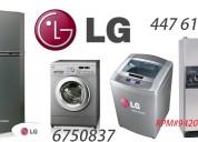 Servicio tecnico lavadora lg  014476173