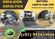 Emulsion asfaltica para filtraciones de humedad