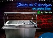 Lineal autoservicios tavola sal bar en acero