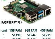 Raspberry pi 4 model b 1gb ram venta al por mayor,