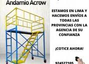 Fabricacion andamio acrow