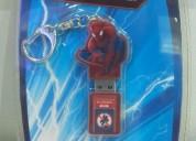 "Usb  8gb diseño ""barbie and spiderman"""