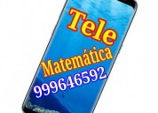 Tele matematica. a distancia. todo nivel. whatsapp