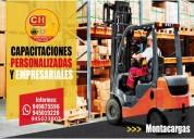 Capacitacion certificacion y homologacion de operadores de apilador montacargas y traspalet