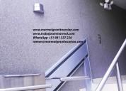 Granyplast, microcemento, stucco