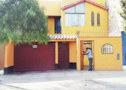 chorrillos vendo casa 2plantas+aires 173m2 $230mil