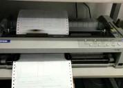 Alquilo impresoras planilleras