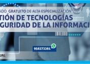 Diplomado en gestiÓn de tecnologÍas y seguridad
