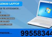 Tecnico de computadoras laptop ,tablet a domicilio