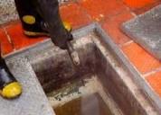 Desatoro de desague en la molina