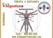 La bioenergética y el biomagnetismo: 999 997 222.