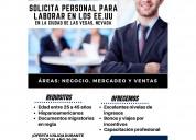 Ofertas de empleos disponibles en las vegas