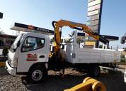 Mitsubishi canter euro 5tn. año 2012 grúa camion