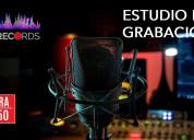 Alquiler estudios de grabación idm records perú