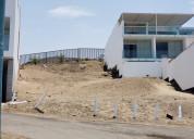 Vendo 3 lotes de playa lomas del mar - cerro azul