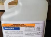 Desinfectante amonio cuaternario 5ta. g   virucida