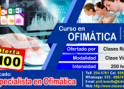 Curso de especialista en ofimÁtica 2016