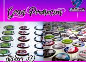 Impresiones sobre vinil stickers publicidad