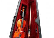 Violin arco maletin para 2 3 4 5 6 años
