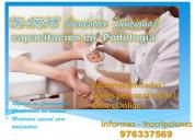 Estudia en corto tiempo podologia - geriatrÍa
