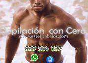 Depilacion para hombres s kalos fisioterapia spa
