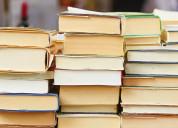 Compro libros al mejor precio usados o nuevos