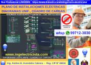 Planos de instalaciones electricas – ingeniero electricista
