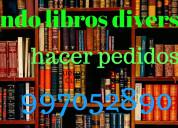 Venta de libros diversos a domicilio
