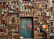 Compro libros de toda clase a domicilio