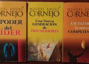 Vendo colección de libros de miguel Ángel cornejo