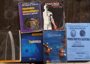 Libro de anatomia , quimica, preunac fisica