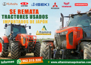 Se remata tractores japones usados