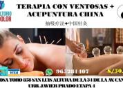 Terapia masaje con ventosas en san luis
