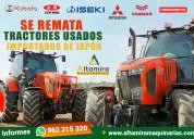 Se oferta tractores japones usados