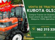Tractor japonés kubota en venta