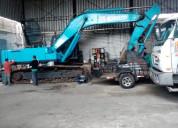 Vendo excavadora kobelco sk 350 2014.