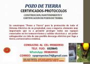 De pozo de tierra protocolos certificados