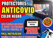 Protector anti covid  mototaxi torito bajaj