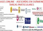 Clases de matemáticas, física y cursos de ing.