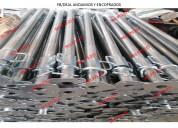 Puntales metálicos importados electrogalvanizados