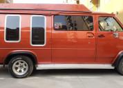 Vendo camioneta van gmc savana 1981