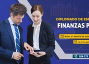 Diplomado de especializaciÓn en finanzas pÚblicas