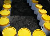 Imprimante bitumen en baldes