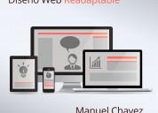 Diseñador digital diseño de páginas web