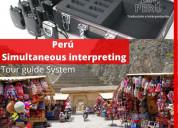 Traductor  idiomas eventos equipos perú 997163010