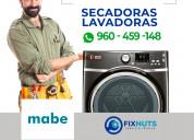 **-mabe - servicio tecnico lavadoras, secadoras y