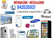 Técnico de lavadoras refrigeradoras frigobar