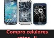 Compro celulares rotos nuevos usados