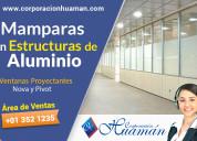 Instalación de ventanas y mamparas de aluminio