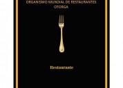 Organismo mundial de restaurantes